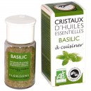 Cristaux d'huiles essentielles Basilic Florisens