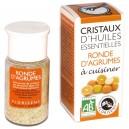 Cristaux d'huiles essentielles Bio Ronde d'agrumes