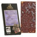 Tablette chocolat noir bio à l'épeautre soufflé